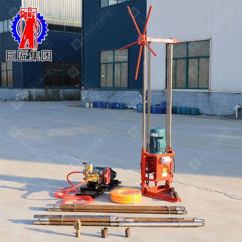 地質勘探鉆機價格QZ-2A多用途三相電淺層取樣鉆機