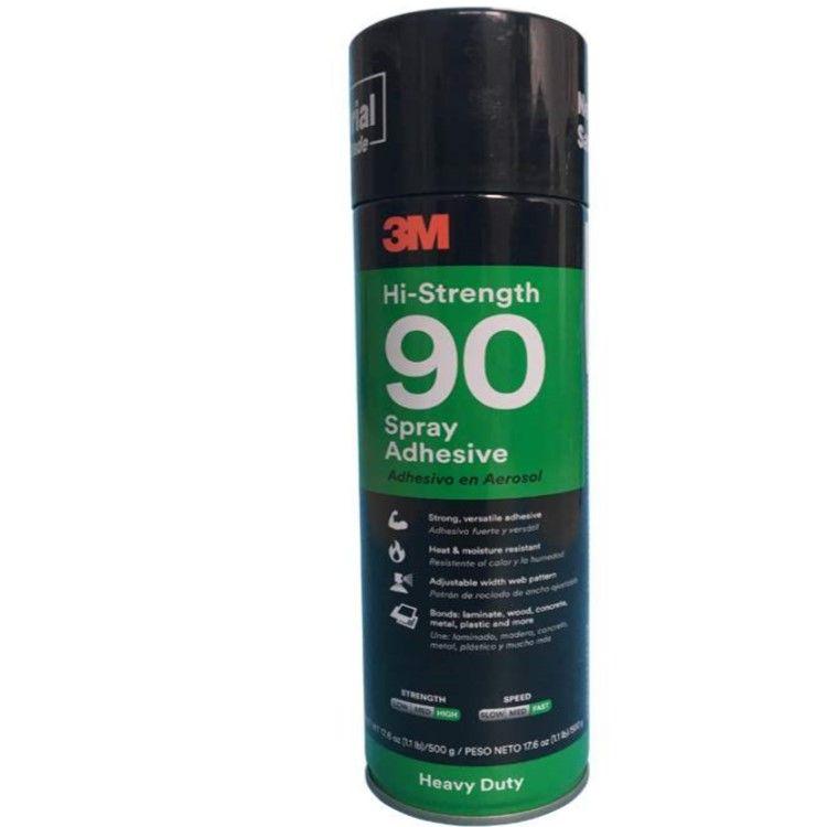 3M 90噴膠半透明耐高溫噴霧型膠水 金屬木材塑料高壓層材料粘結噴灌膠水