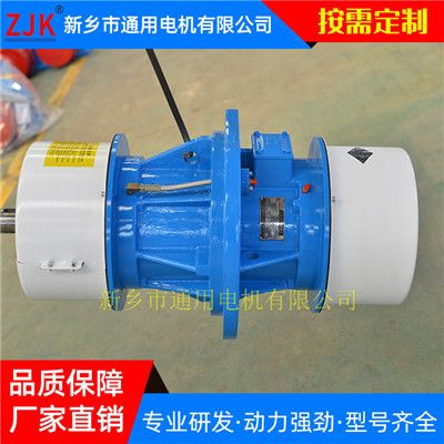 松原JZO振动电机价格-小型振打电机-通用低转速侧板电机-灰斗振动器厂家