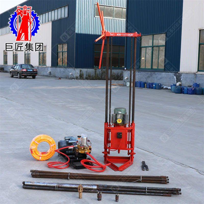 山東華巨供應QZ-1A型輕便兩相電地表取樣鉆機適用于多種地質