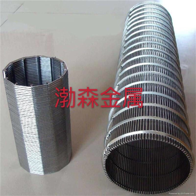 V型丝不锈钢滤水管滤网