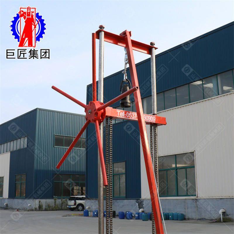 岩心钻机专业生产的厂家QZ-2CS带卷扬机取样钻机