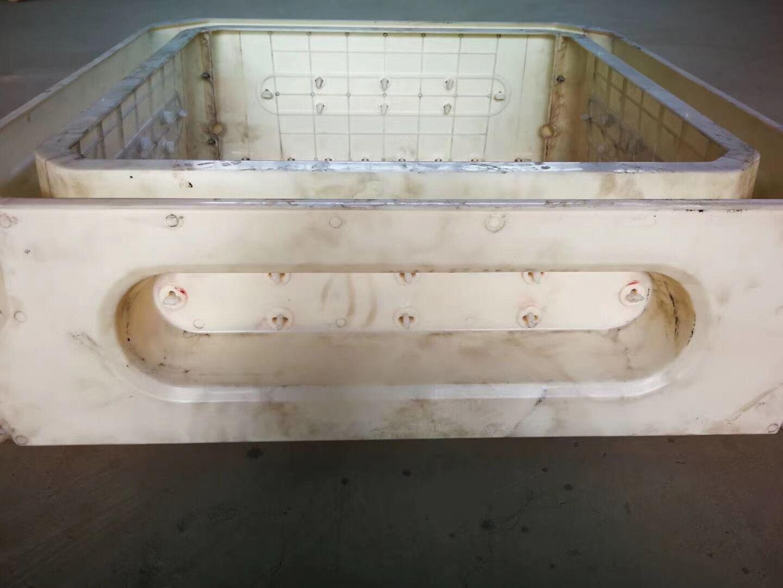 平铺式框格模具-四方框格护坡模具