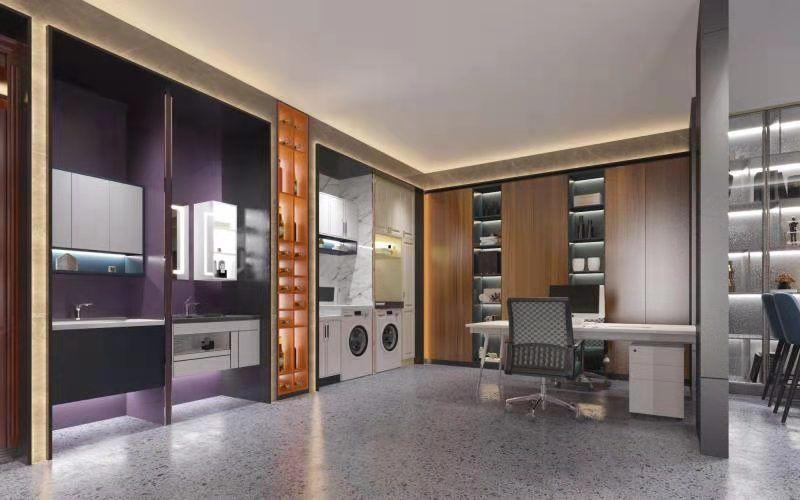 防水不生銹的不銹鋼廚柜