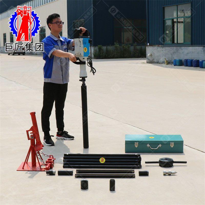 非扰动土采样器QTZ-3D便携式电动取土钻机小型