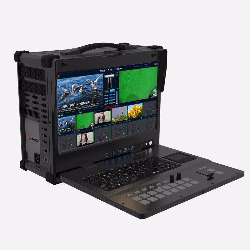 迪特康姆DT-UHD400导播台 4路输入直播间高清切换台