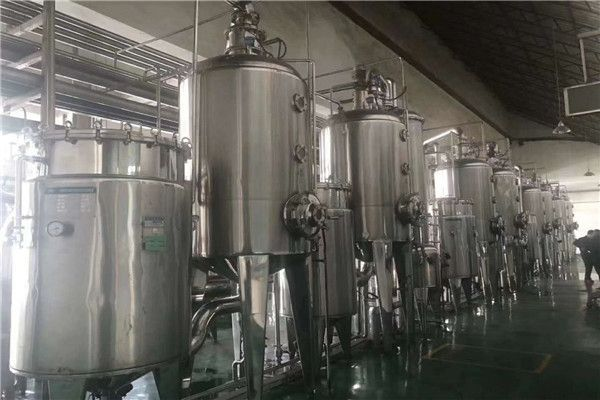 专业定制不锈钢多效降膜式蒸发器 四效五体蒸发器