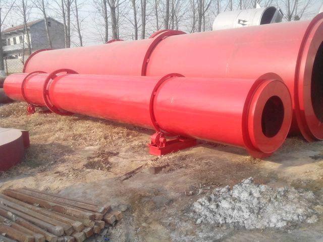 加工定制河沙滚筒烘干机 木屑化肥河沙烘干机