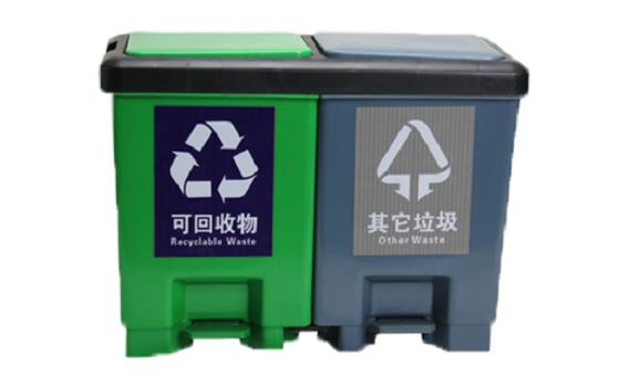 吉林納米環衛分類垃圾桶