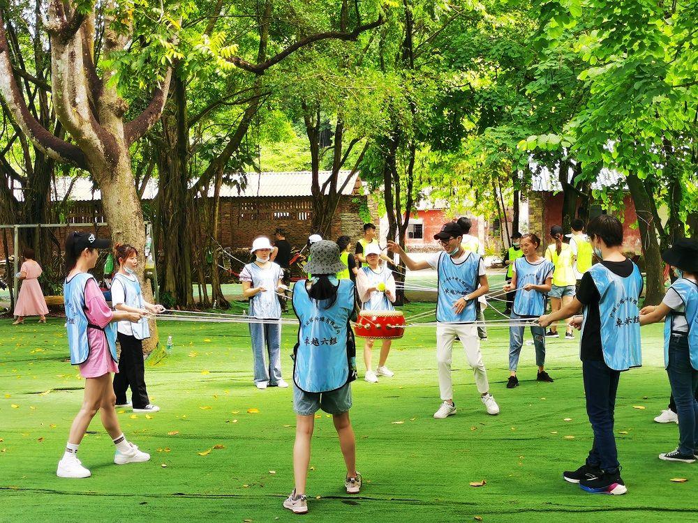 广州团建拓展出游广州帽峰山生态园