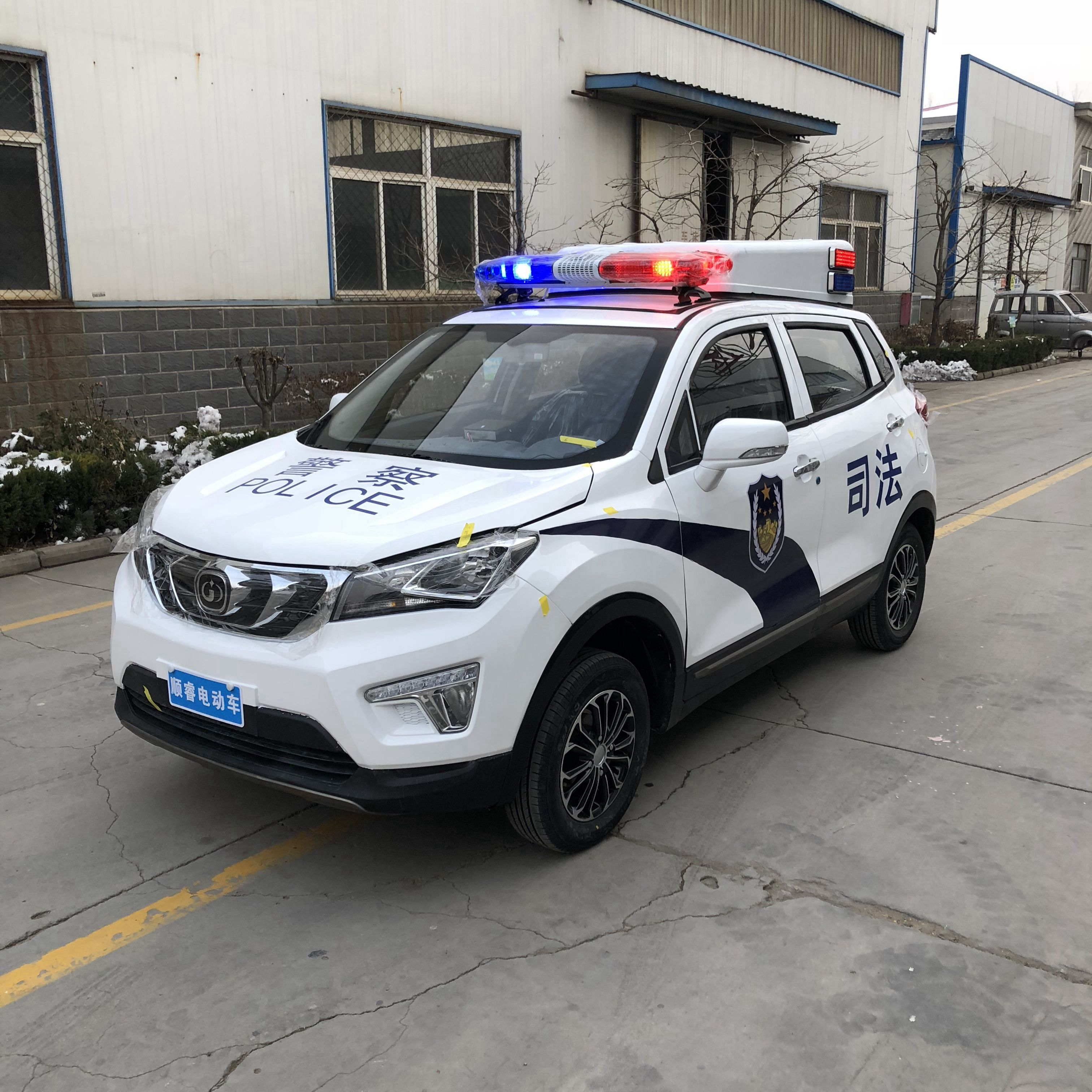 合肥景区物业工厂电瓶巡逻车