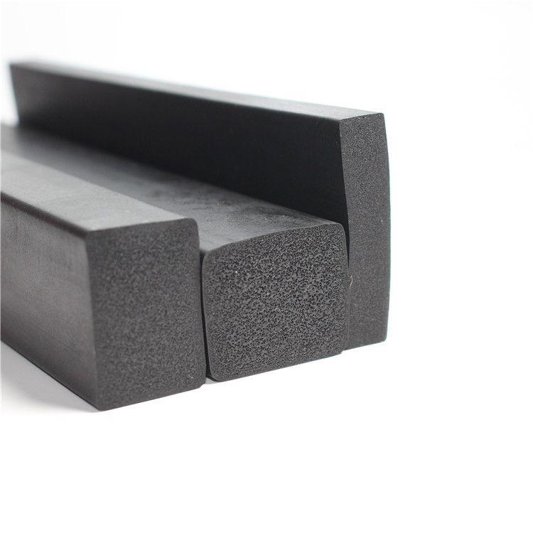 三元乙丙发泡橡胶条矩形防撞减震隔音EPDM配电柜箱密封条