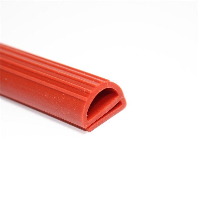 烤箱耐高温蒸箱硅胶条e型硅胶定制硅橡胶密封条