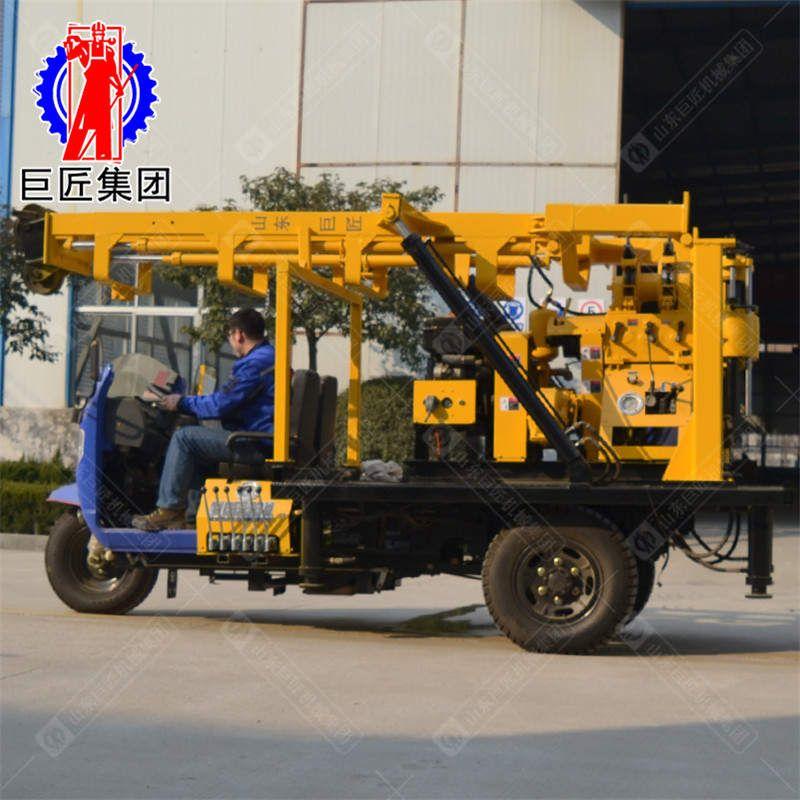 XYC-200A三轮车载水井钻机