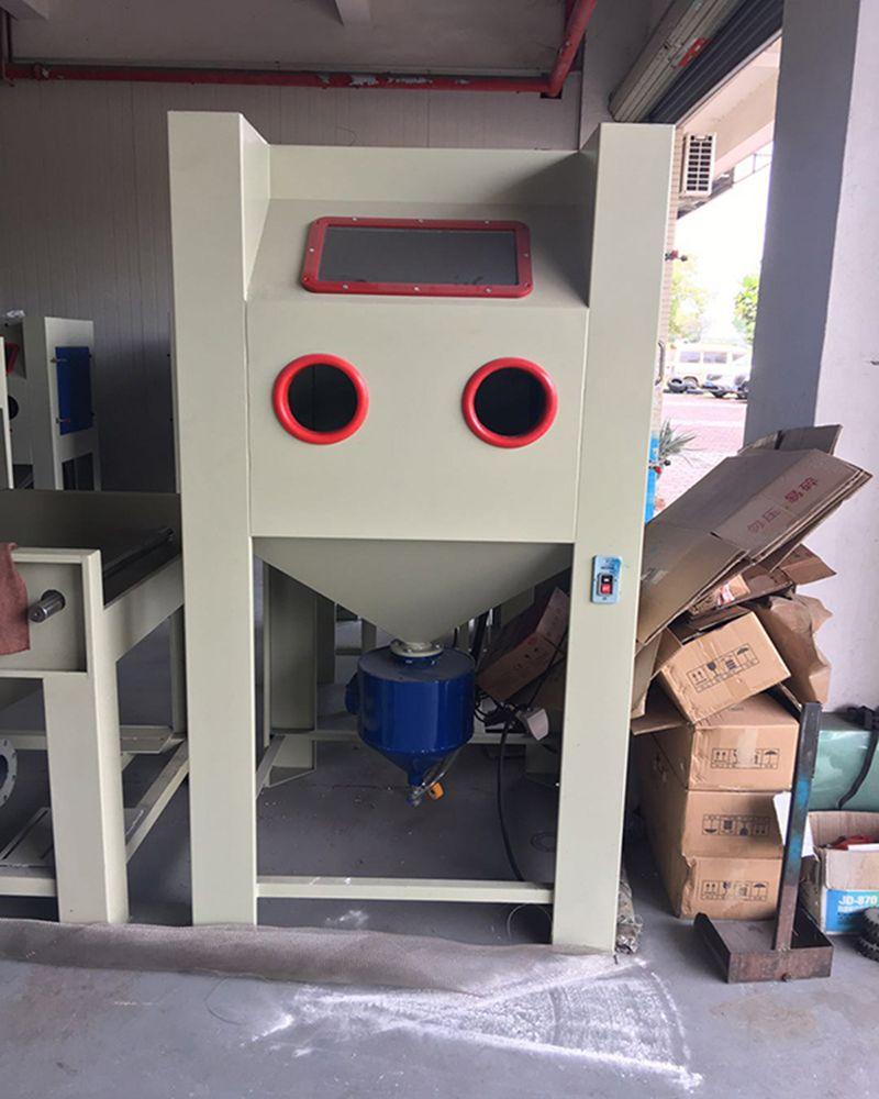 西宁手动压入式喷砂机 去除高硬度氧化层清理设备