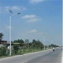 河北6米7米8米太陽能路燈 單臂雙臂海螺臂太陽能路燈廠家批發