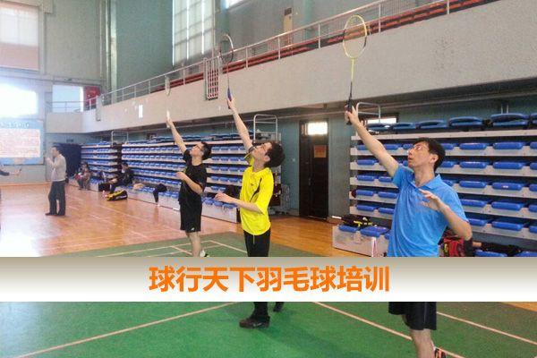2020秋季球行天下成人及青少年兒童羽毛球培訓