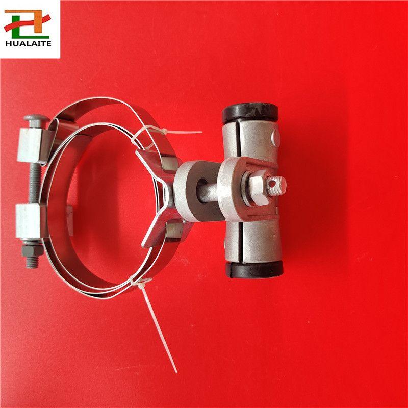 鹤岗现货直供杆用ADSS切线线夹,不锈钢扎带固定光缆悬垂金具,2020新品