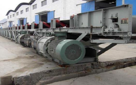 矿用带式输送机工作原理