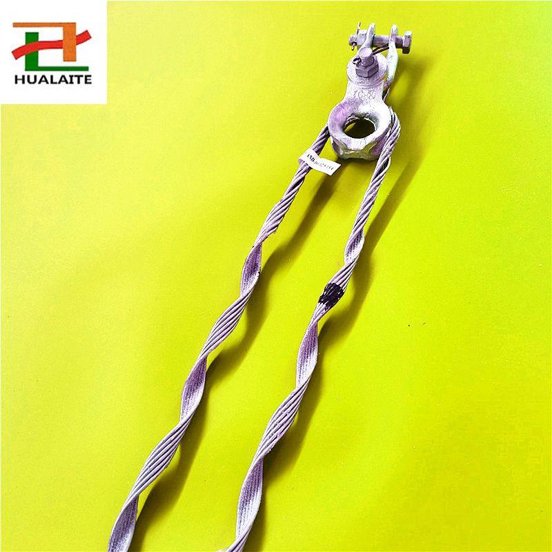 预绞式ADSS耐张线夹,光缆线路转角拉线金具,各种规格型号