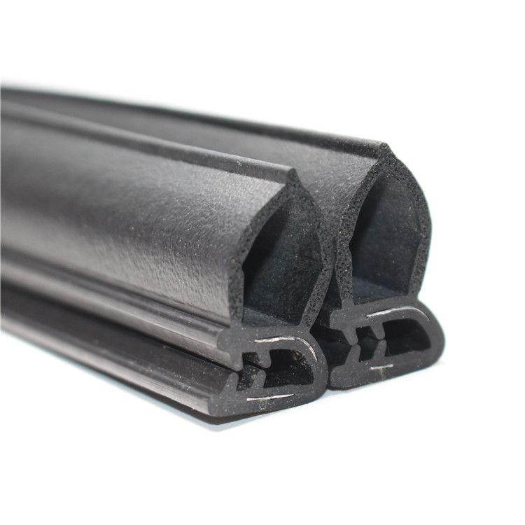 三元乙丙侧泡U型钢带密封条橡胶密封条