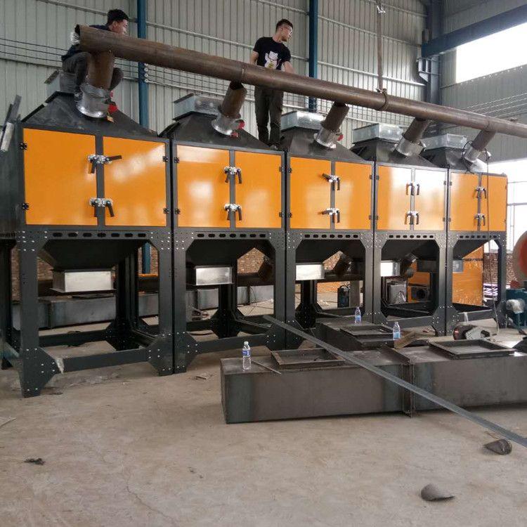 催化燃烧设备工业环保废气处理活性碳吸附脱附一体机RCO蓄热装置