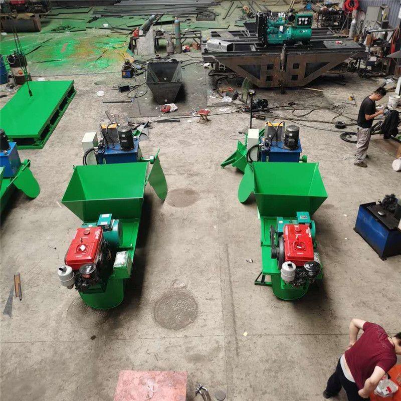 山东宏威定制水渠成型机  水渠成型机 水渠滑膜机