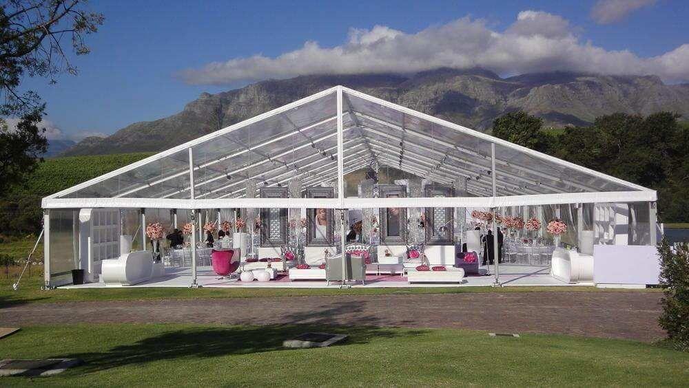 南京透明大蓬租赁 设计定做尖顶篷房 出租促销玻璃篷房