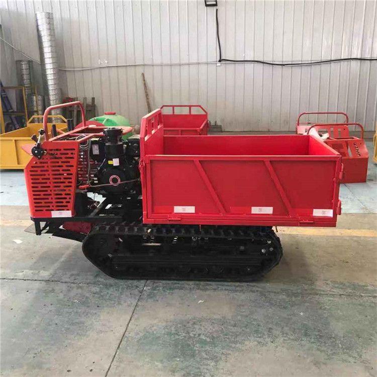 小型農用履帶運輸車價格 果園用履帶運輸車 可定制履帶式運輸車