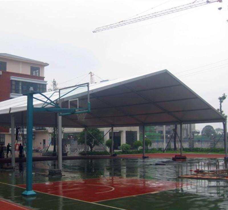 北京体育篷房厂家 设计定做网球馆大蓬 出售户外篮球馆篷房