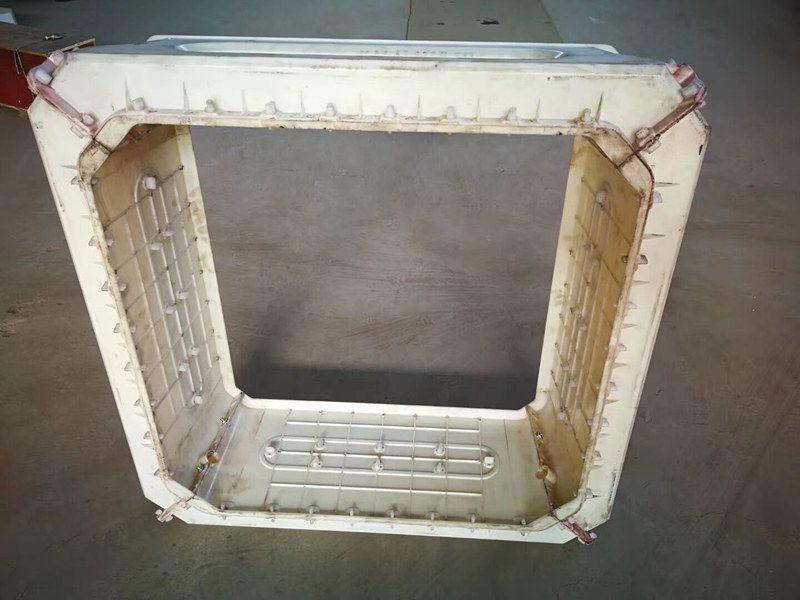 四方框格护坡模具-河堤框格护坡钢模具