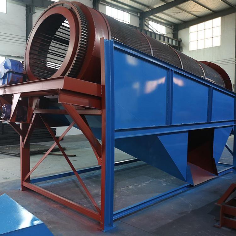 云南新式圓形滾筒篩 配置價格表 雄鼎機械 大型礦用滾筒篩現場圖片