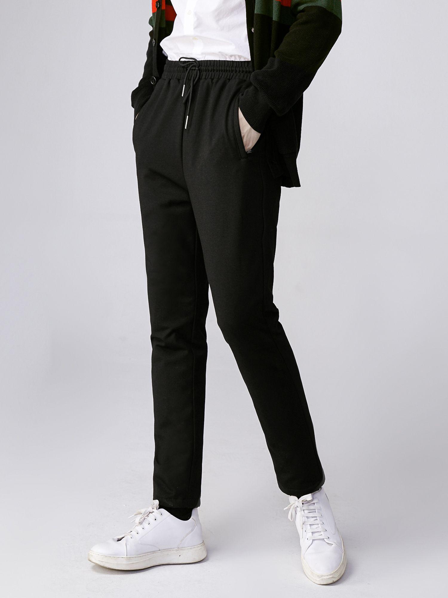 男款直筒羽绒裤