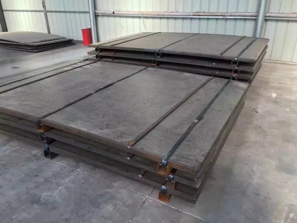 濟寧高耐磨4+4堆焊耐磨板 耐磨板用途