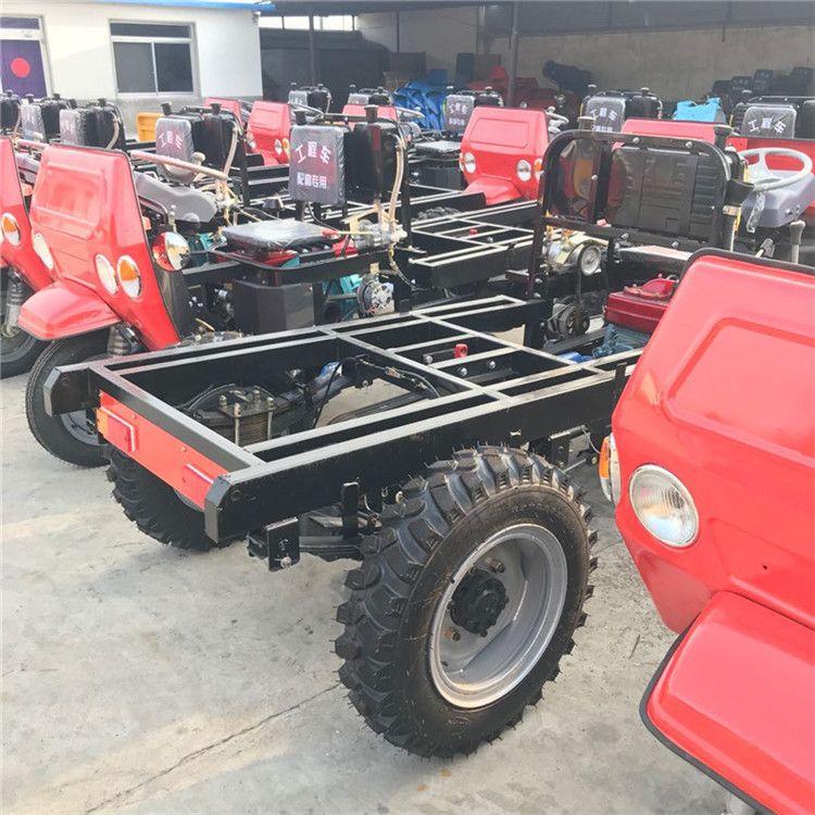 山东矿用工程三轮车 柴油自卸式三轮车 小型农用柴油三轮车