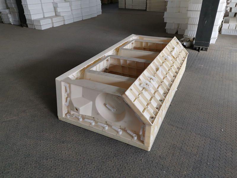 鱼巢式护坡模具-河道阶梯护岸塑料模具