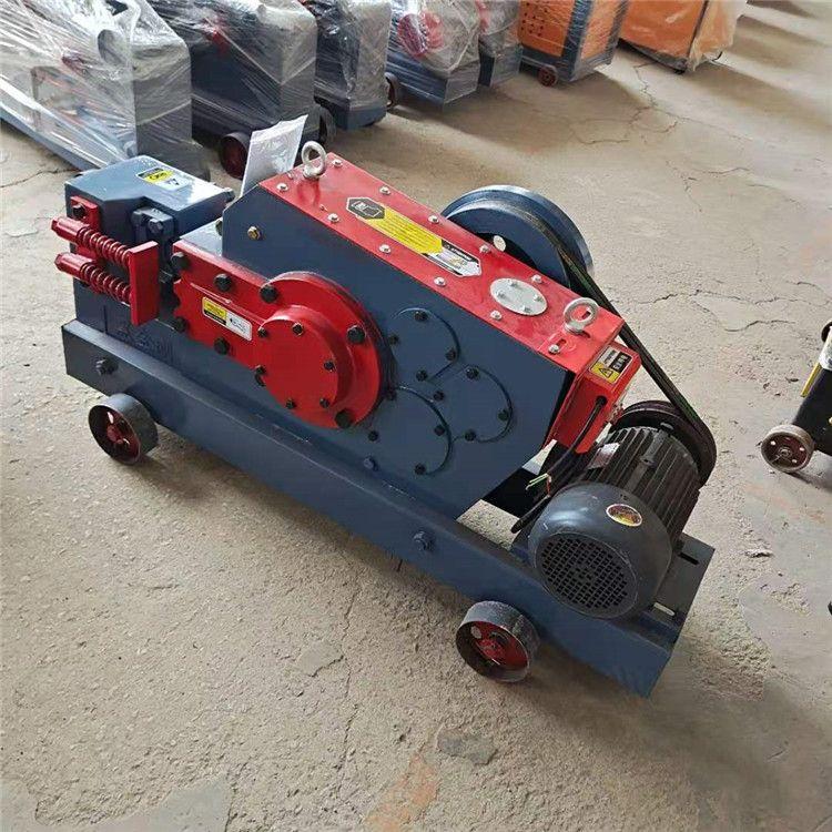山東小型電動斷鐵機 螺紋鋼剪斷機 大型重型電動切鐵機