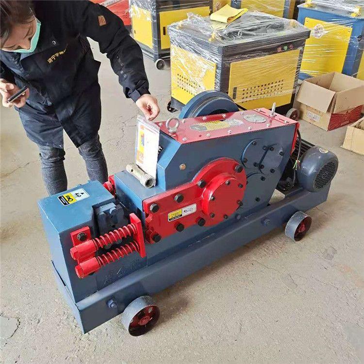 山东钢筋切断机 全自动钢筋截断机 直螺纹钢筋切断机