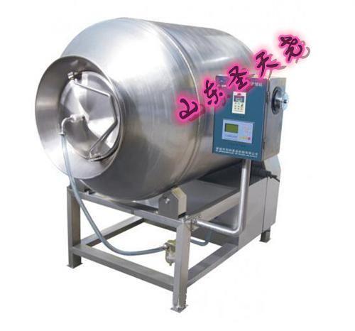 厂家直销全自动节能变频肉类腌制真空滚揉机夹层锅烟熏炉盐水注射机