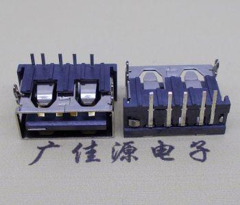 USB 2.0接口USB大电流连接器10.0短体5p快充插板母头