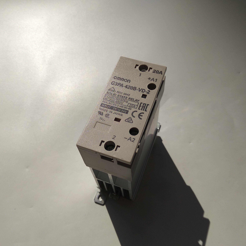 G3PA-420B-VD-2 DC12-24欧姆龙固态继电器