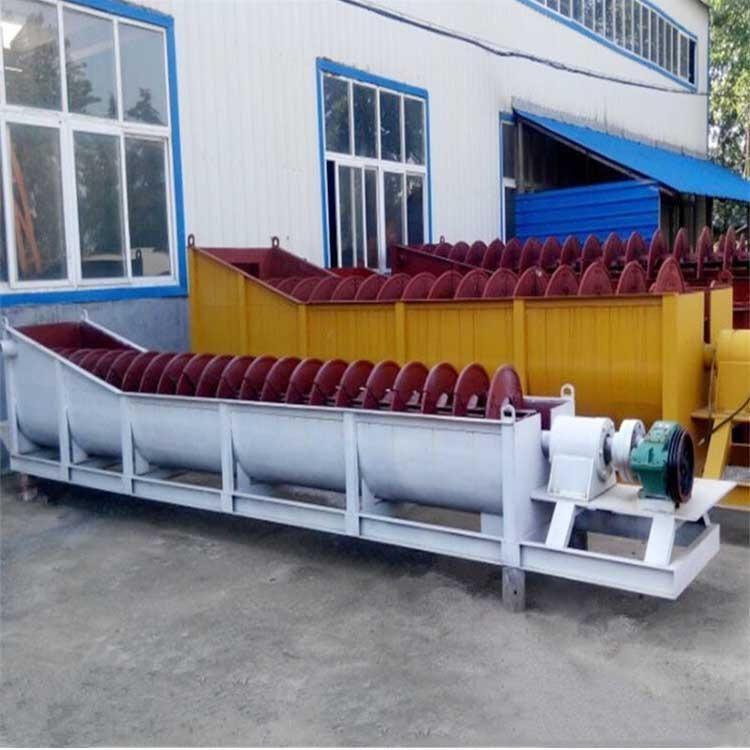 云南螺旋洗砂机 大型螺旋洗砂机厂家 螺旋洗砂机产量型号 雄鼎机械