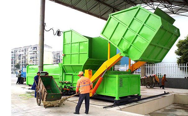 广东汕头分体式垃圾转运站垃圾压缩箱可发货到吉林延边州厂家提供生产