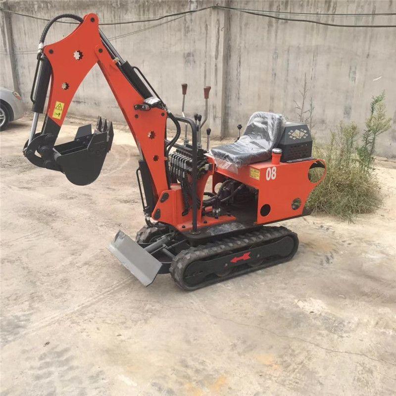 山东工程小型挖掘机 建筑履带钩机  农用小挖机