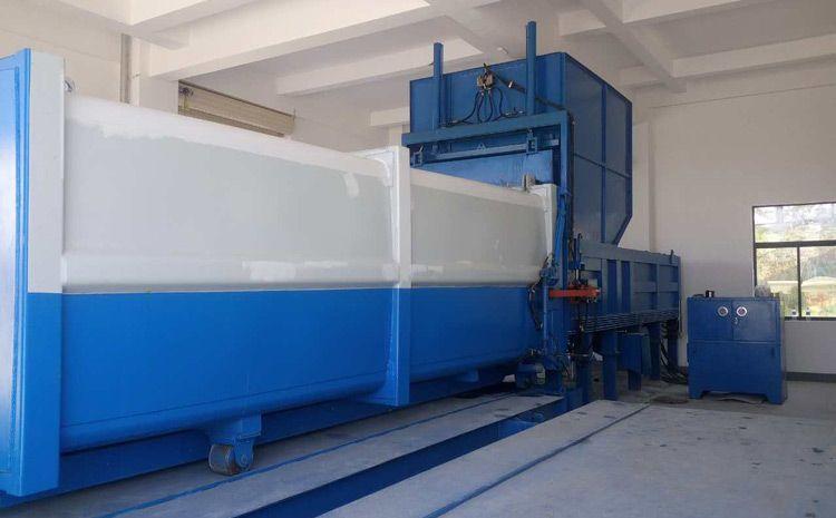 分体式垃圾中转站压缩机公司欢迎青海西宁客户来厂考察