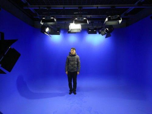 蓝箱搭建虚拟演播室抠像虚拟系统