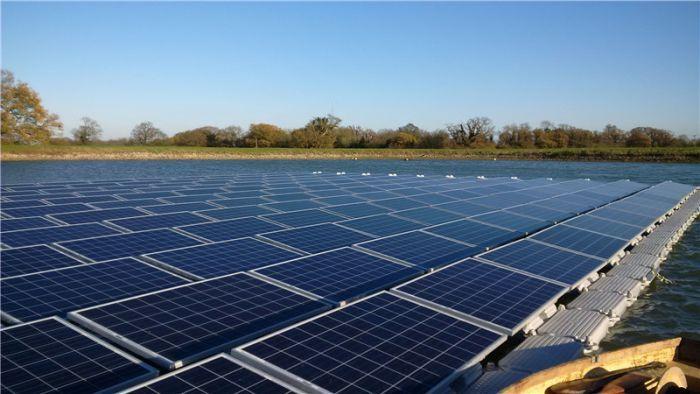 浮動式太陽能發電場系統,外貿推廣