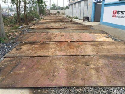 广东珠三角租赁铺路钢板,价格还是中深好