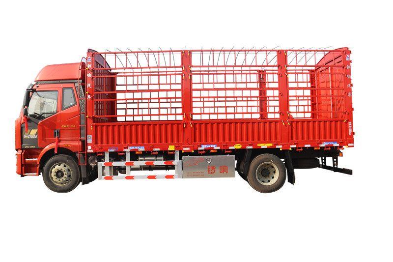 仓栅式载货车 轻型半挂车 锣响铝合金工具箱 物流运输车