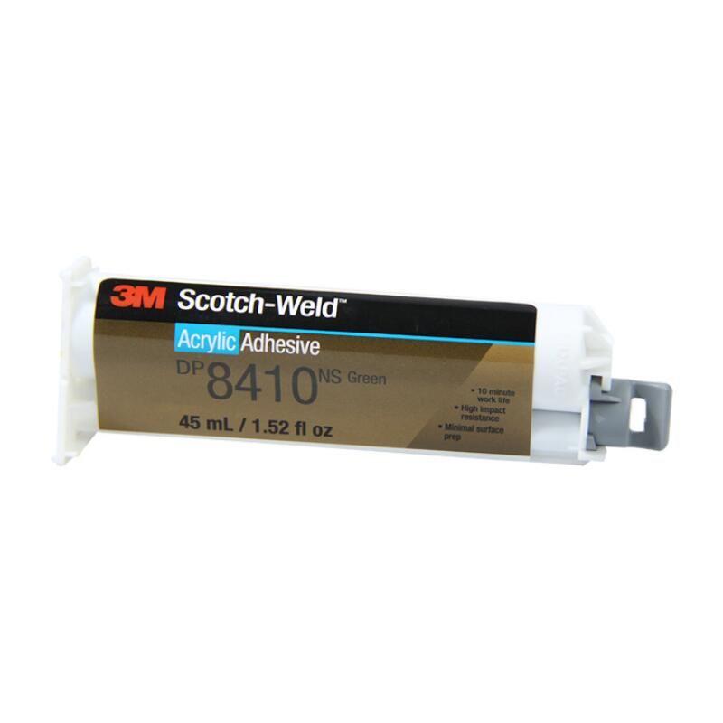 3M DP8410NS绿色双组份结构胶 钢铝材镀锌材金属类粘接AB胶